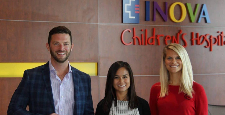NVO Donates $20,000 to INova Children's Hospital
