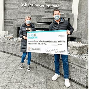 Dr. C Schar Donation