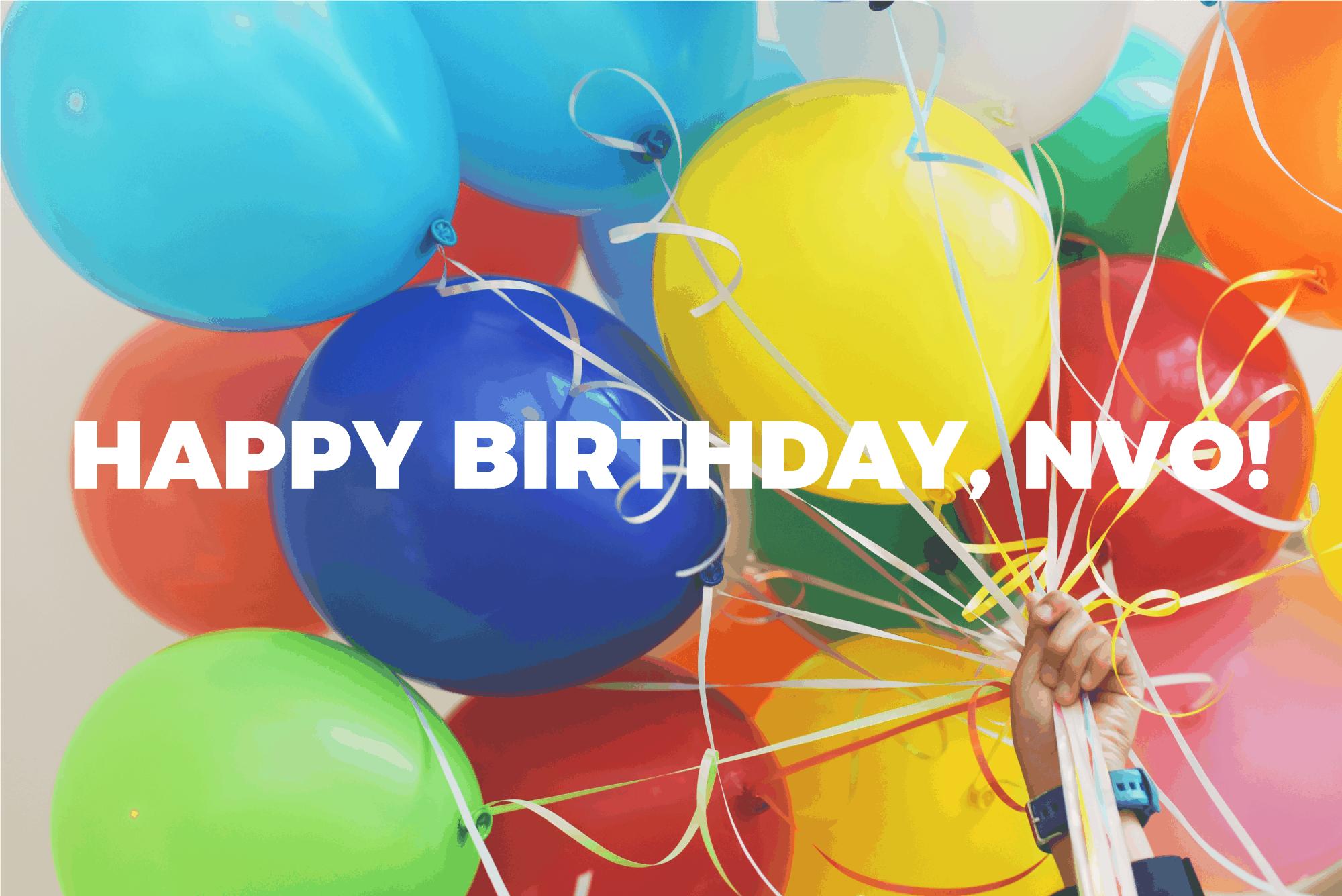 NVO is turning 10