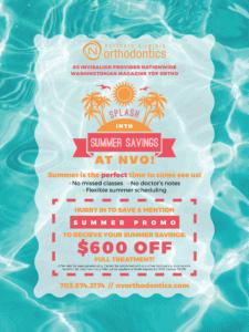Summer Savings at NVO!