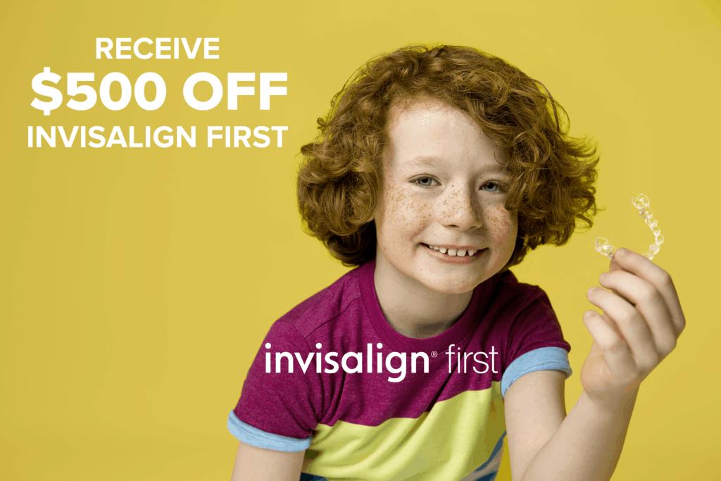 invisalign first savings